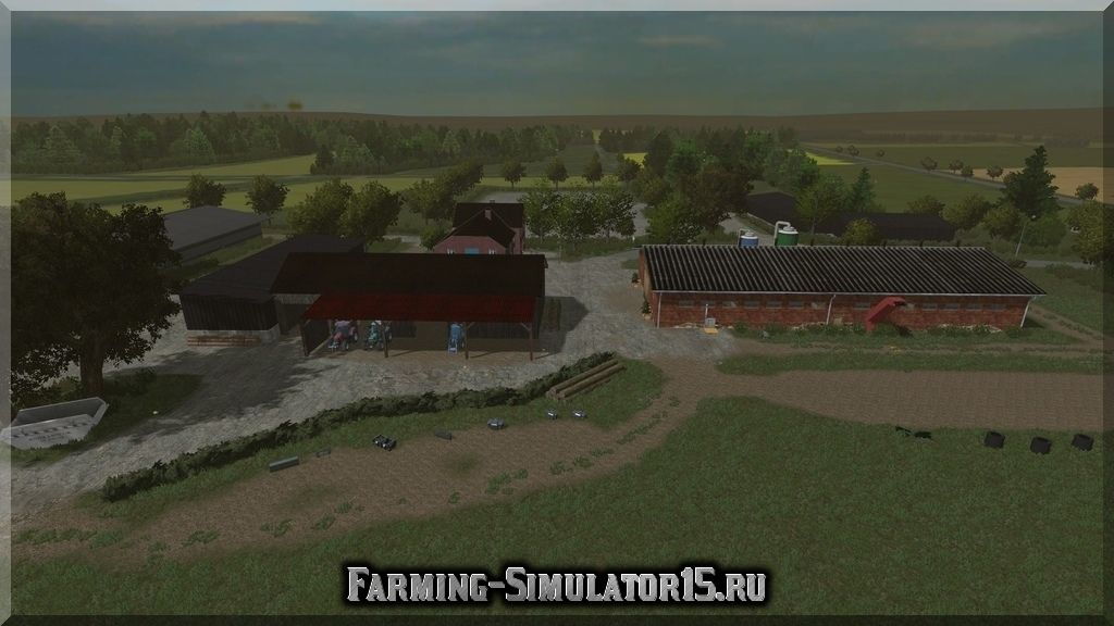 Мод карта MIG Map MadeInGermany Region Celle v 0.91 SP Beta Farming Simulator 15, 2015