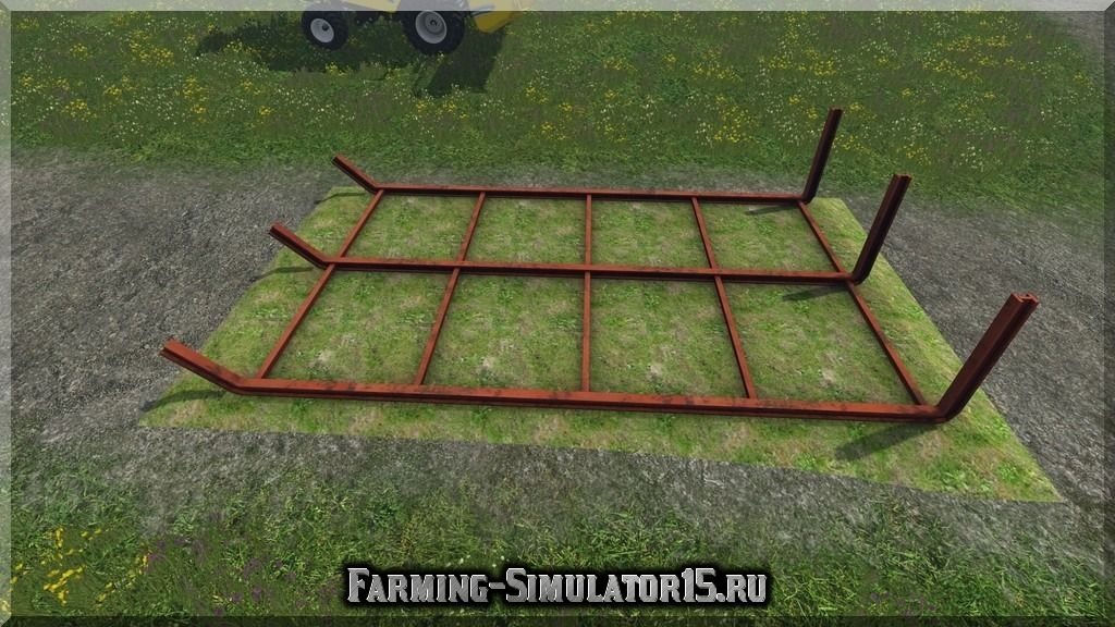 Мод хранилище для бревен Timberyard v 1.0 Placeable Farming Simulator 15, 2015