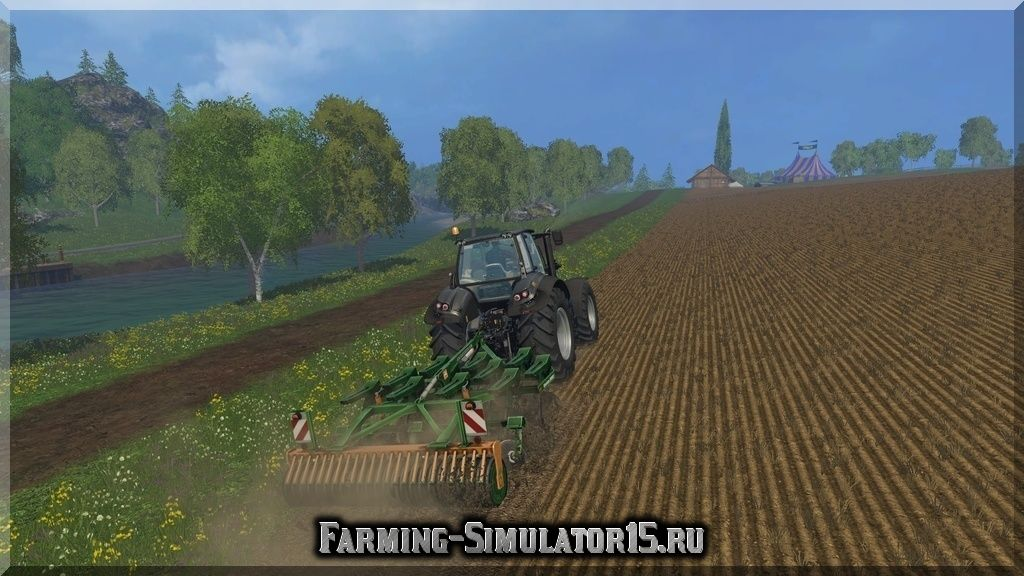 Мод культиватора Amazone Cenius 3002 v 2.1 Farming Simulator 2015, 15