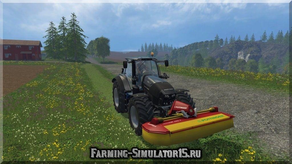 Мод газонокосилки Poettinger Novacat 306F v 1.0 Farming Simulator 15, 2015
