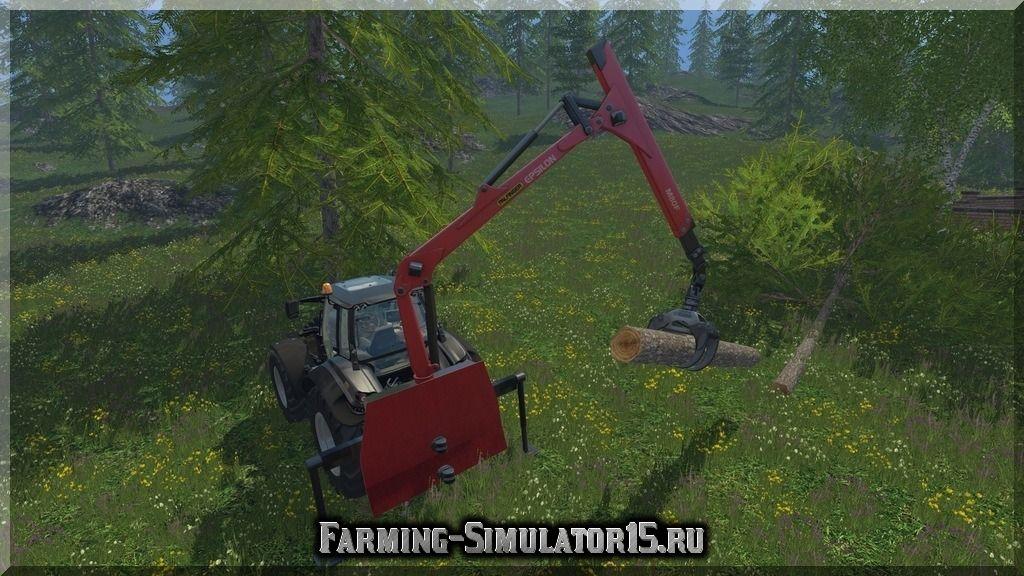 Мод манипулятора Forst Heckkran v 3.0 Farming Simulator 2015, 15