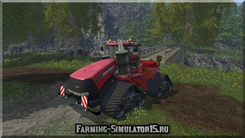 Мод трактора CASE IH Quadtrac 1000 v 1.2 Farming Simulator 15, 2015