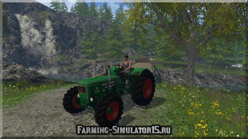 Мод трактора Deutz D80 v 1.0 Farming Simulator 15, 2015
