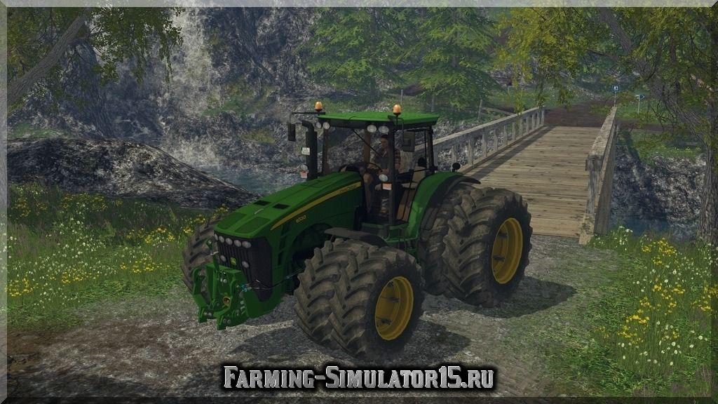 Мод трактора John Deere 8530 v 1.0 Farming Simulator 2015, 15