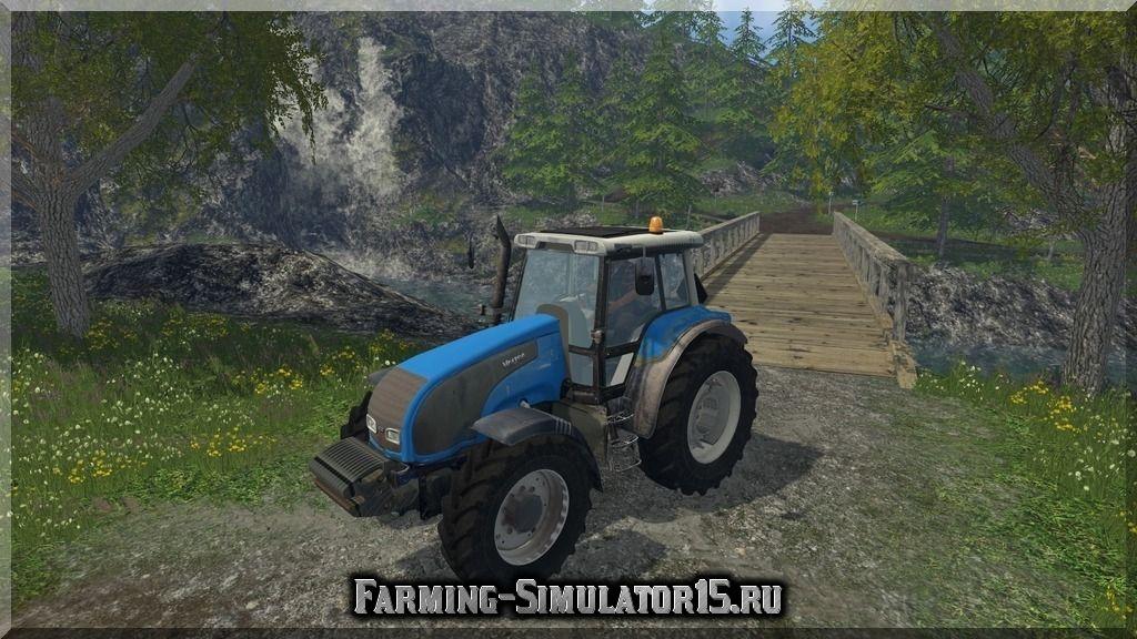 Мод трактора Valtra T140 v 1.0 Farming Simulator 2015, 15