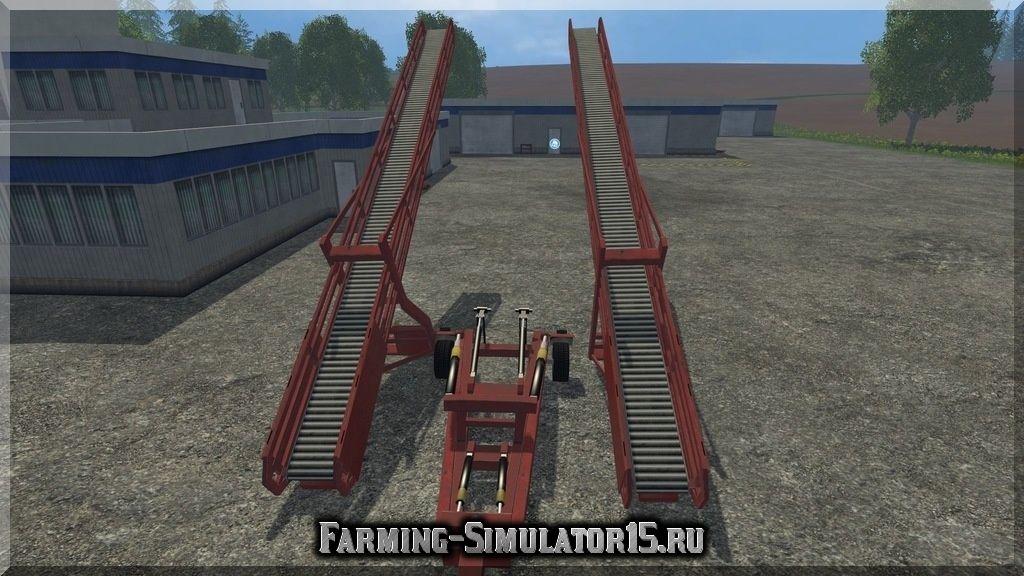 Мод конвейерный погрузчик Conveyor Belt Pack v 1.0 Multifruit Farming Simulator 2015, 15