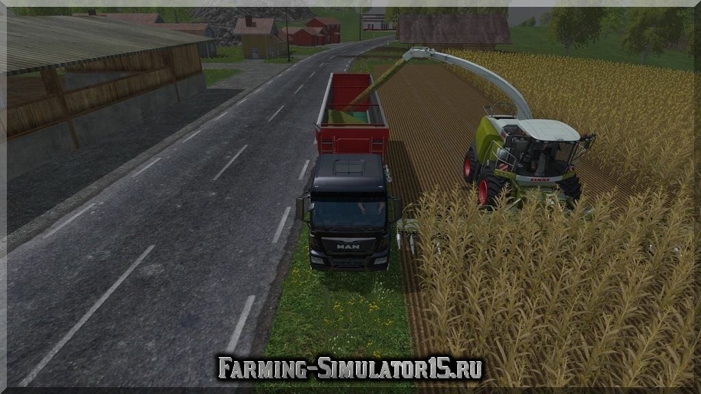 Мод комбайна Claas Jaguar 980 v 1.0 Farming Simulator 2015, 15