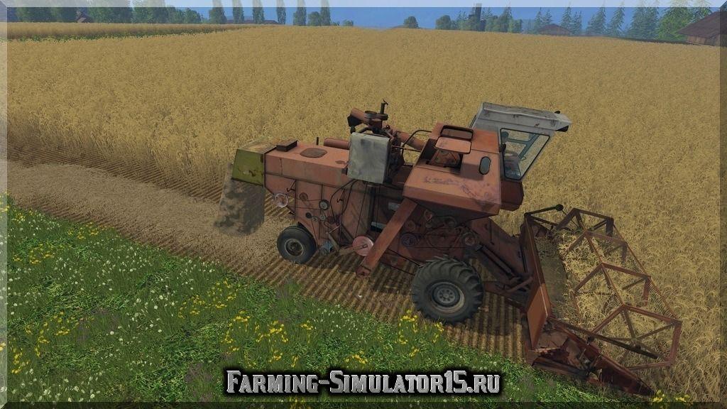 Мод комбайна Нива Niva AgroPack v 1.3 Farming Simulator 2015, 15