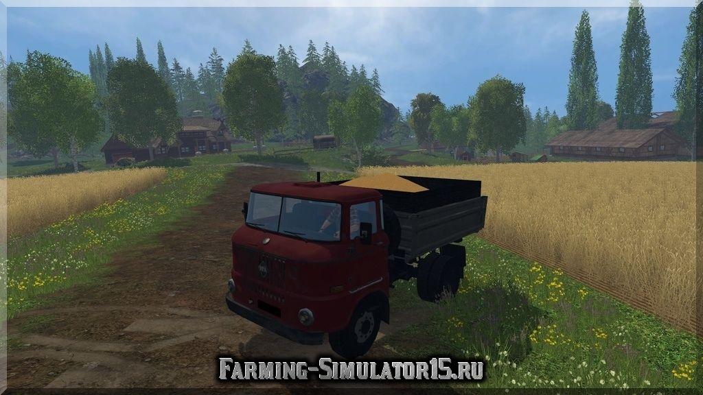 Мод грузовика IFA W50 v 1.1 Farming Simulator 15, 2015