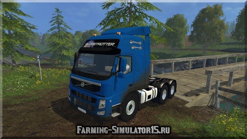 Мод грузовика Volvo FM v 1.0 Farming Simulator 15, 2015