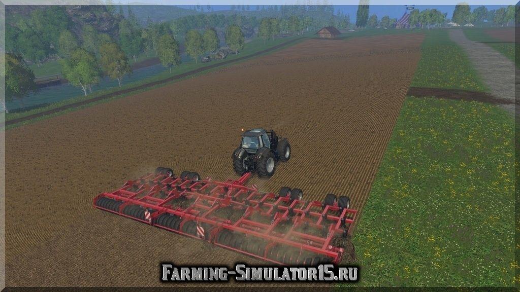 Мод культиватора Horsch Tiger 15LT v 1.1 Farming Simulator 2015, 15
