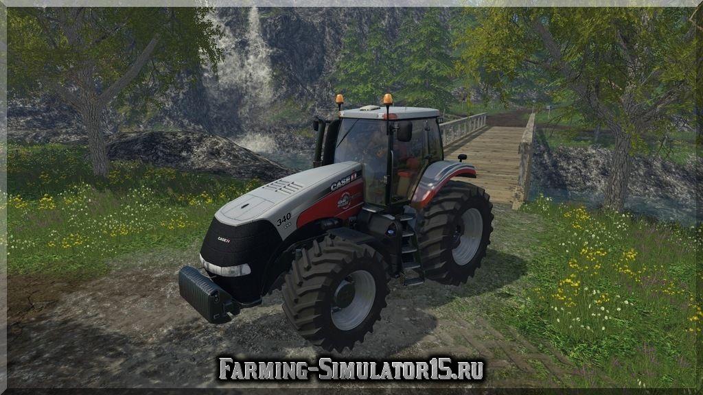 Мод трактора Case IH Magnum 340 v 1.2 Farming Simulator 15, 2015