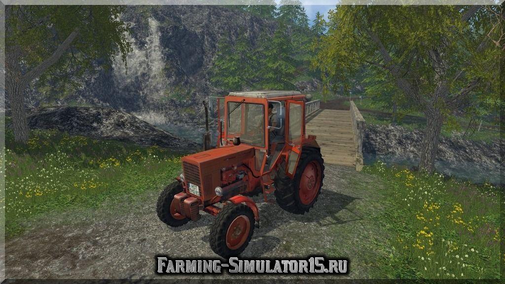 Мод трактора Беларус МТЗ MTZ 80 v 3.1 Farming Simulator 15, 2015