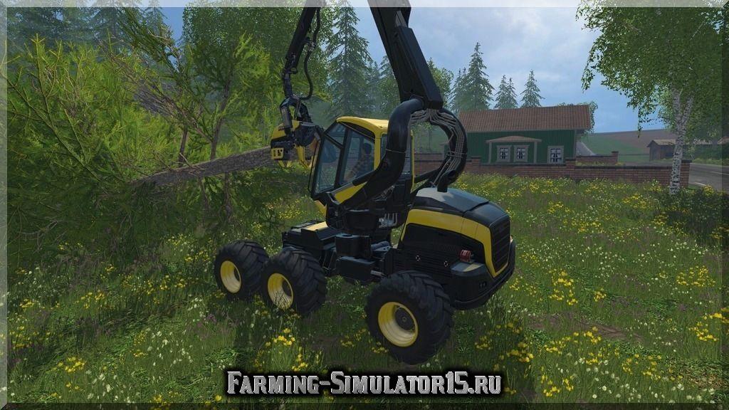 Мод Ponsse Scorpion 6x6 v 2.0 Farming Simulator 2015, 15