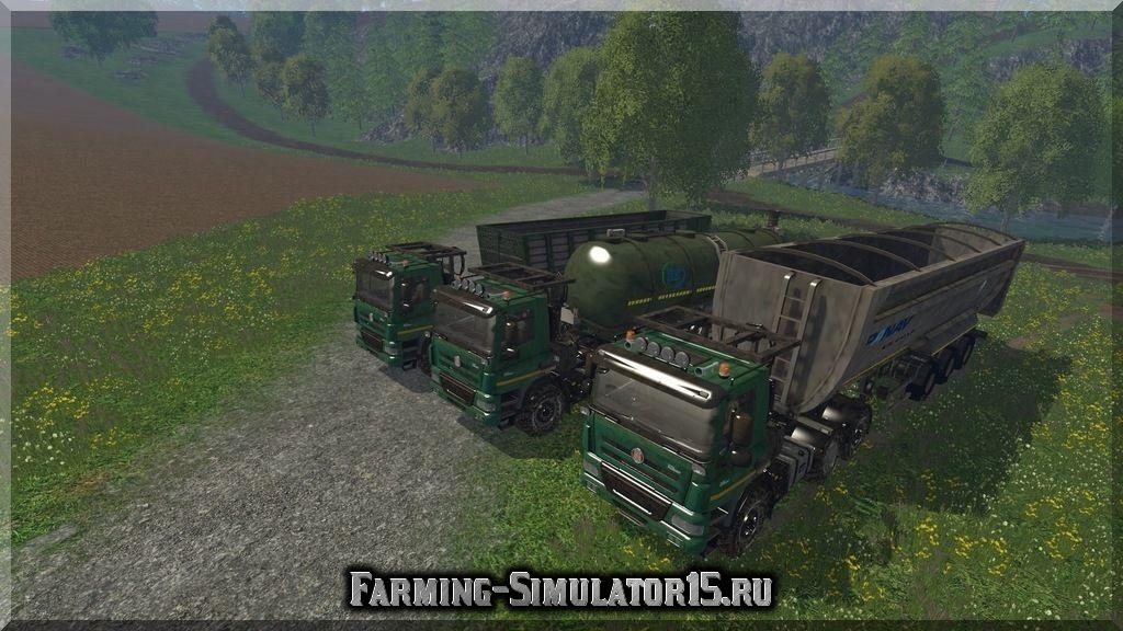 Мод грузовика Tatra 158 Phoenix v1.1 Farming Simulator 2015, 15