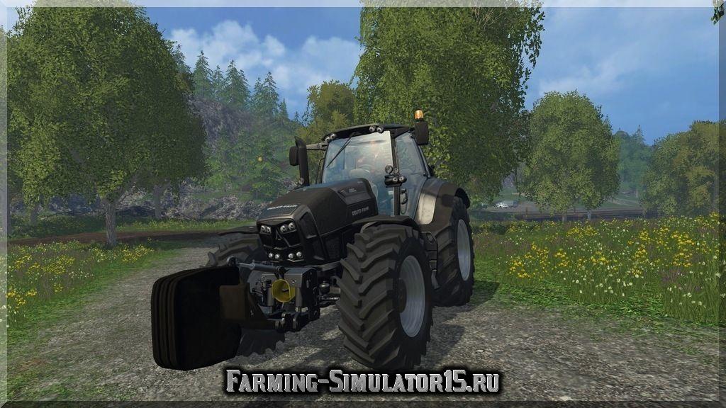 Мод противовеса Shiftable Weigth v 1.0 Farming Simulator 15, 2015