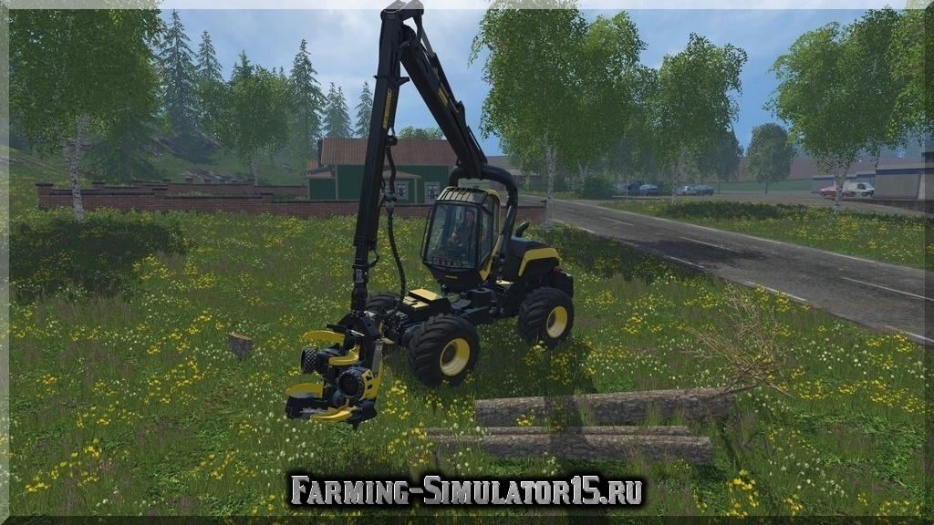 Мод Ponsse Scorpio 4x4 LA v 1.0 Farming Simulator 15, 2015