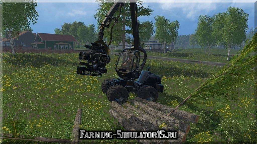 Мод Ponsse 4WD EcoLog v 2.0 Farming Simulator 15, 2015