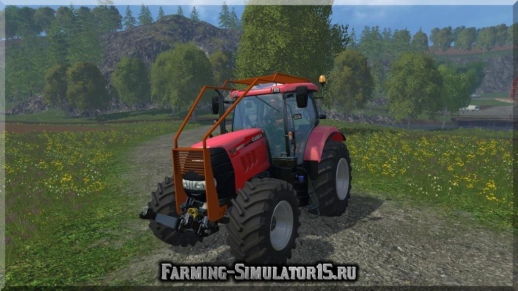 Мод трактора Case IH Puma CVX 160 Forest v 1.0 Farming Simulator 2015, 15