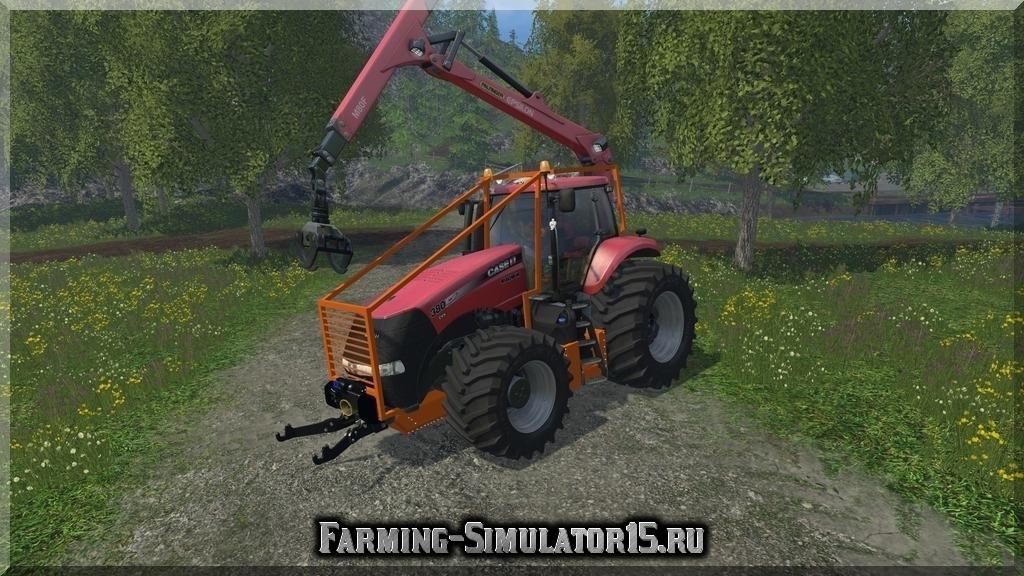 Мод трактора Case 380 Forestry v 2.0 Farming Simulator 2015, 15