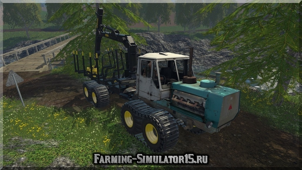 Мод Т-150 PONSSE BUFFALO RENTAL Farming Simulator 15, 2015