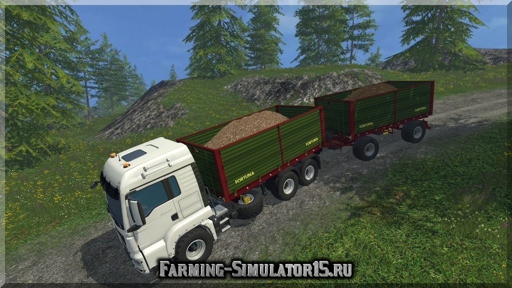 Мод грузовика MAN TGS Farming Simulator 2015, 15