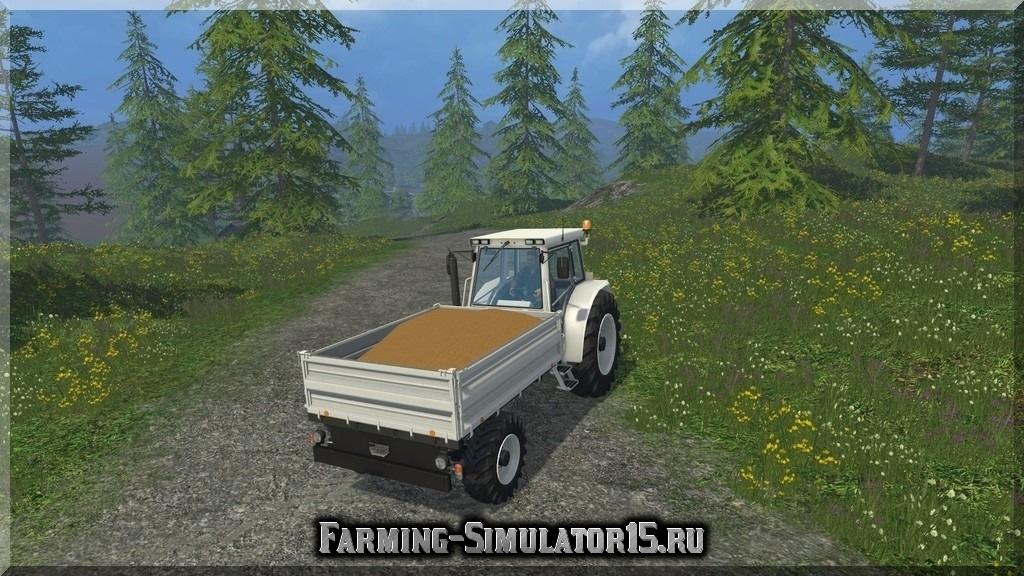 Мод трактора Bührer Pritsche 6135PM Farming Simulator 15, 2015