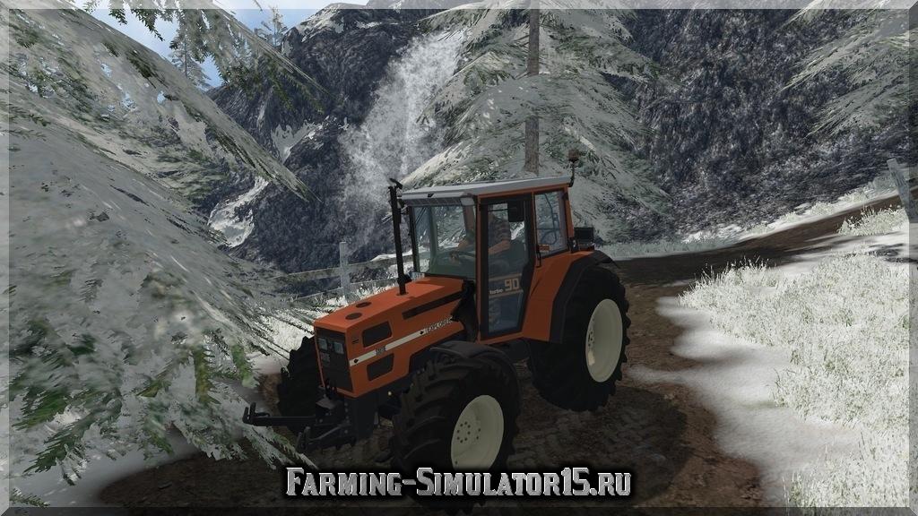 Мод трактора Same Explorer 90 v 1.0 Farming Simulator 15, 2015
