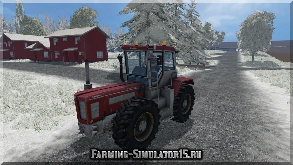 Мод трактора Schuelter 2500 VL v 2.0 Farming Simulator 15, 2015
