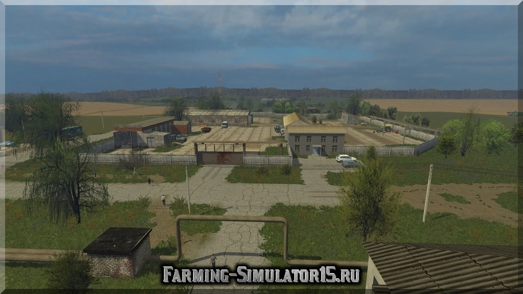 Мод карта Балдейкино v2.1 Farming Simulator 2015, 15