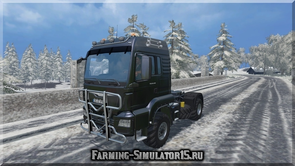 Мод грузовика MAN TGS 18.440 v 1.3 Farming Simulator 2015, 15