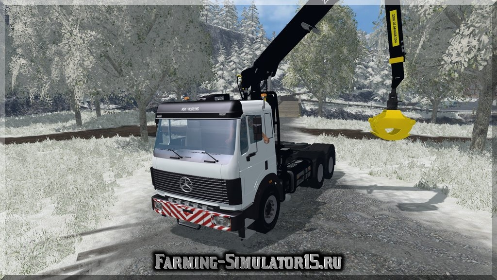 Мод грузовика Mercedes SK Forestry v 1.0 Farming Simulator 15, 2015