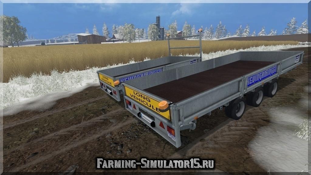 Мод прицепа Ifor Williams v 1.0 Farming Simulator 15, 2015