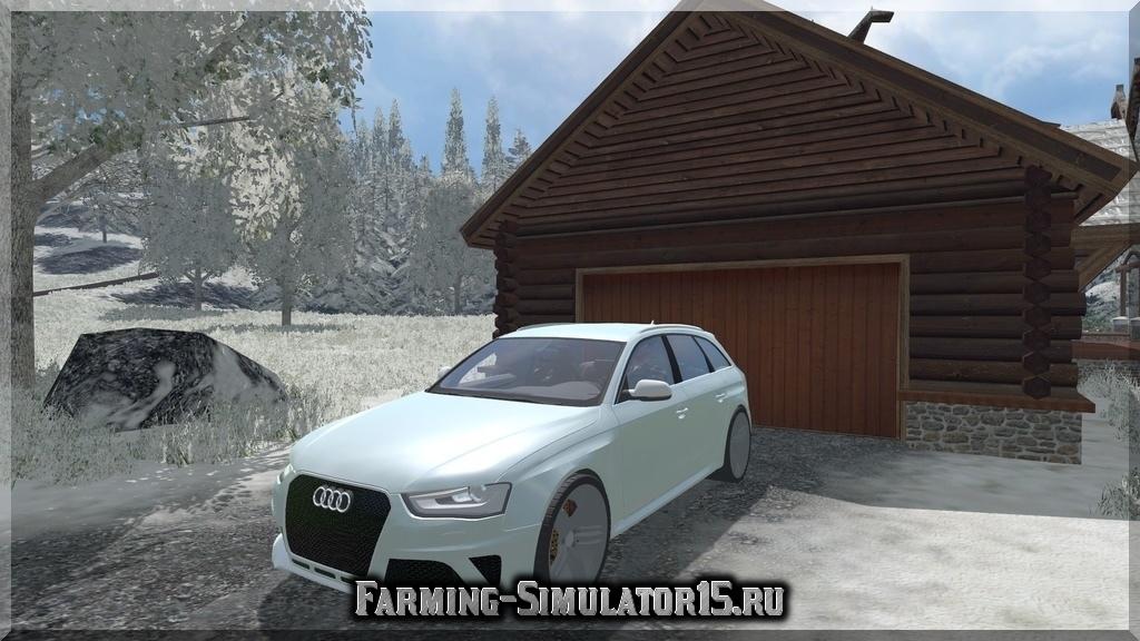 Мод автомобиля Audi Allroad v 1.1 Farming Simulator 2015
