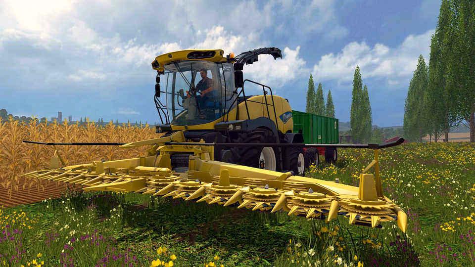 Купить Farming Simulator 2015, 15 всего за 449 рублей