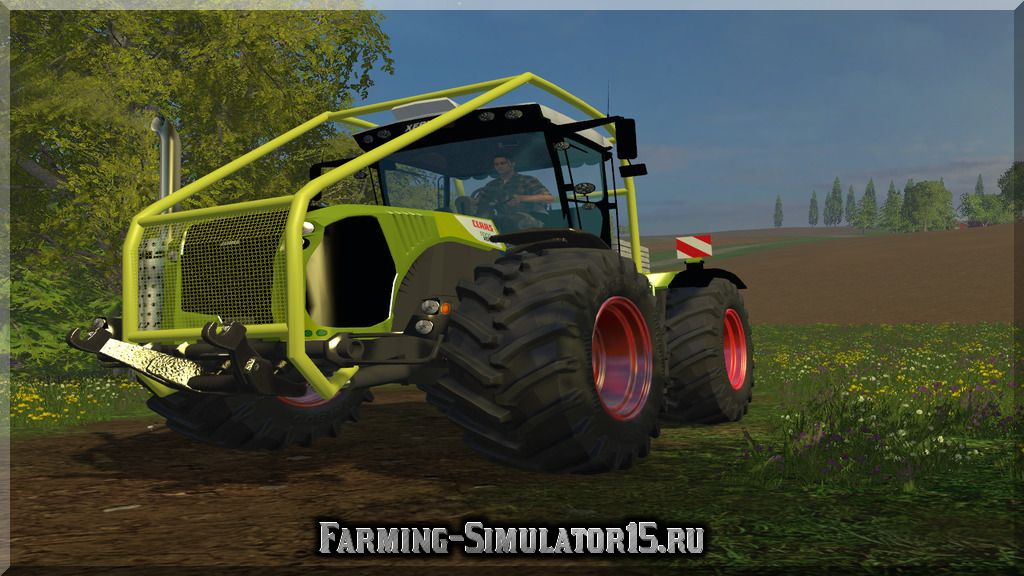Мод Claas Xerion 5000 Arceau Forest v1.0 Farming Simulator 15, 2015