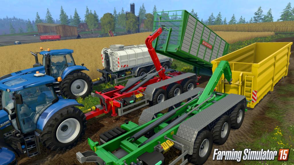 Вышел первый DLC для Farming Simulator 2015, 15