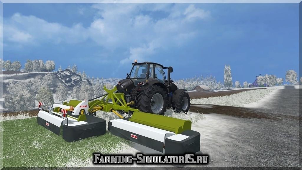 Мод газонокосилки CLAAS DISCO 9100 MOWER Farming Simulator 2015, 15