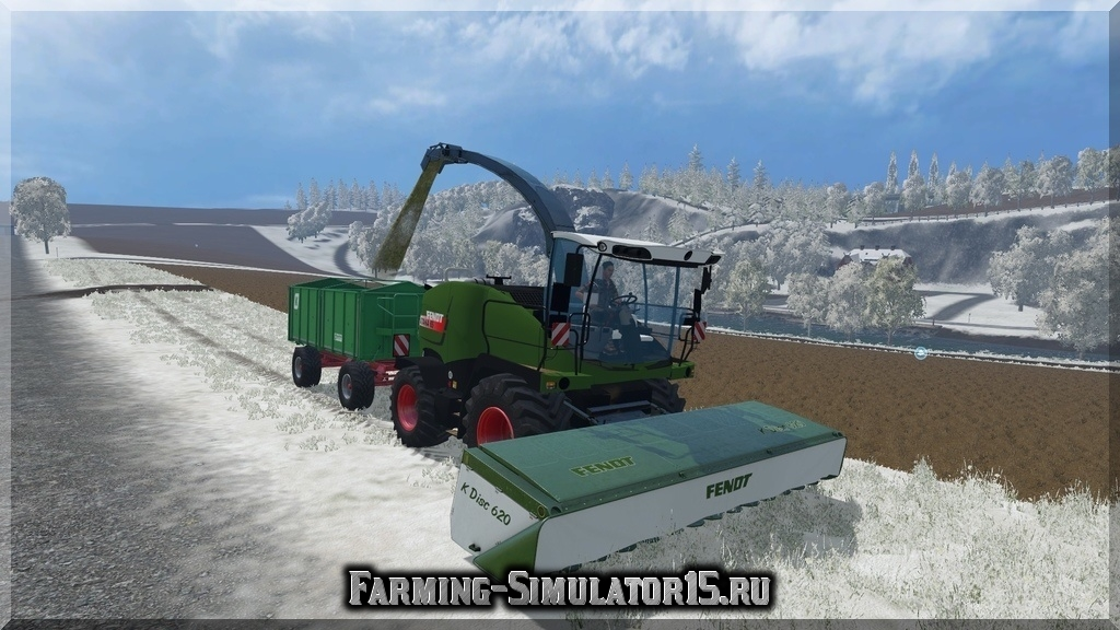 Мод комбайна Fendt Katana 65 Combines pack Farming Simulator 2015, 15