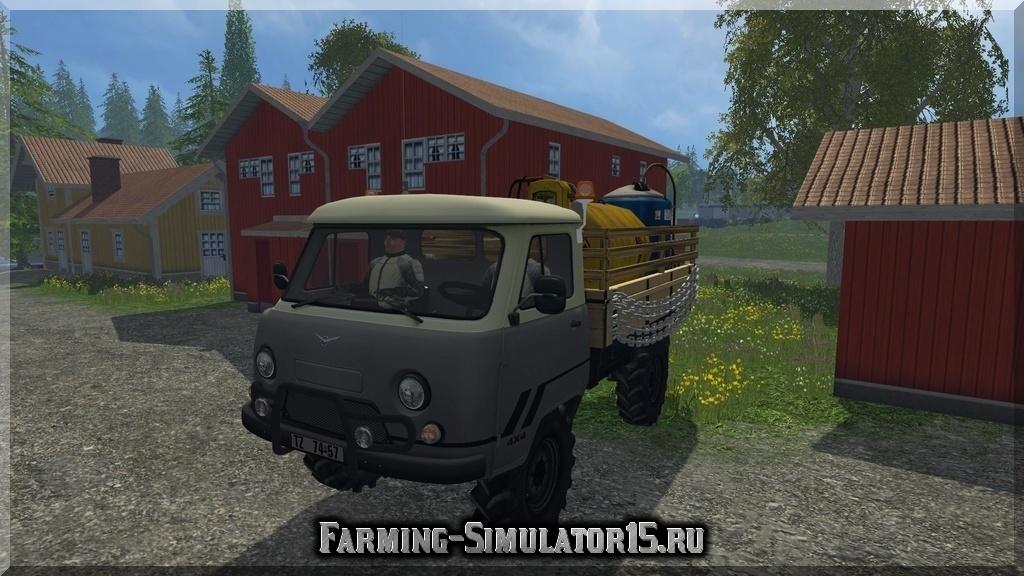 Мод грузовика UAZ 452 v1.0 Farming Simulator 15, 2015