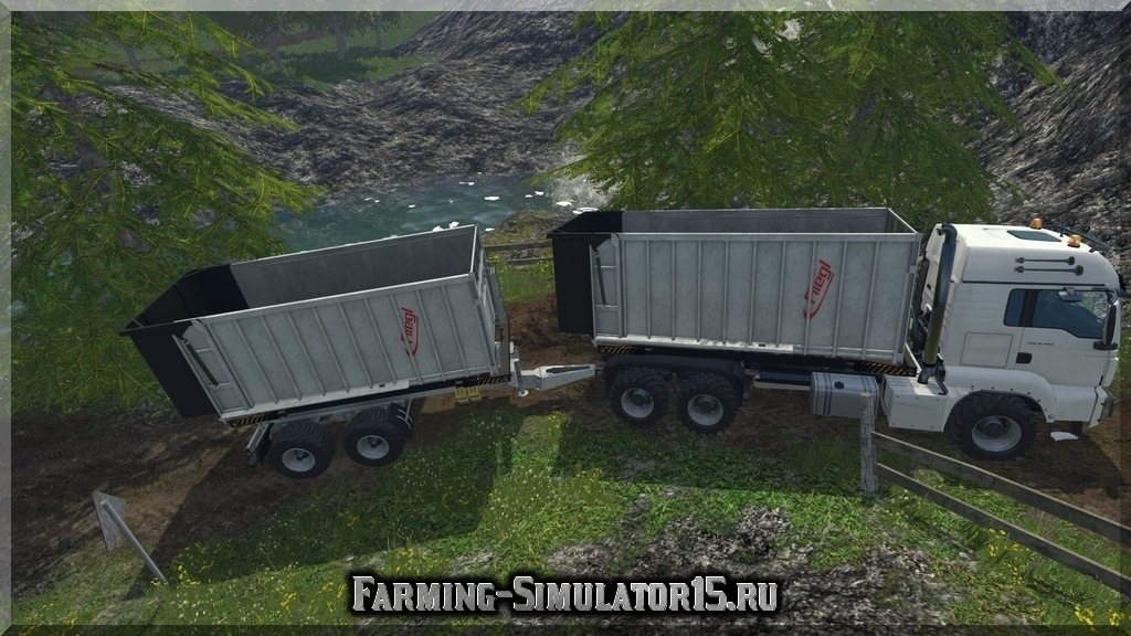 Мод грузовика MAN Fliegl Spreader v1.0 Farming Simulator 2015, 15