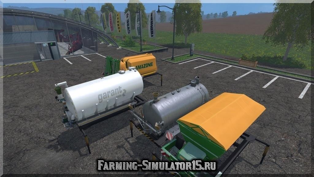 Мод AR Fertilizers And Spraying V 1.1 Farming Simulator 2015, 15