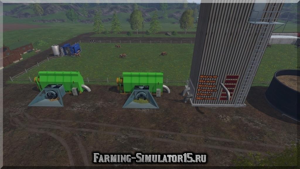 Мод WestBridge Storage addon v3.0 Farming Simulator 15, 2015