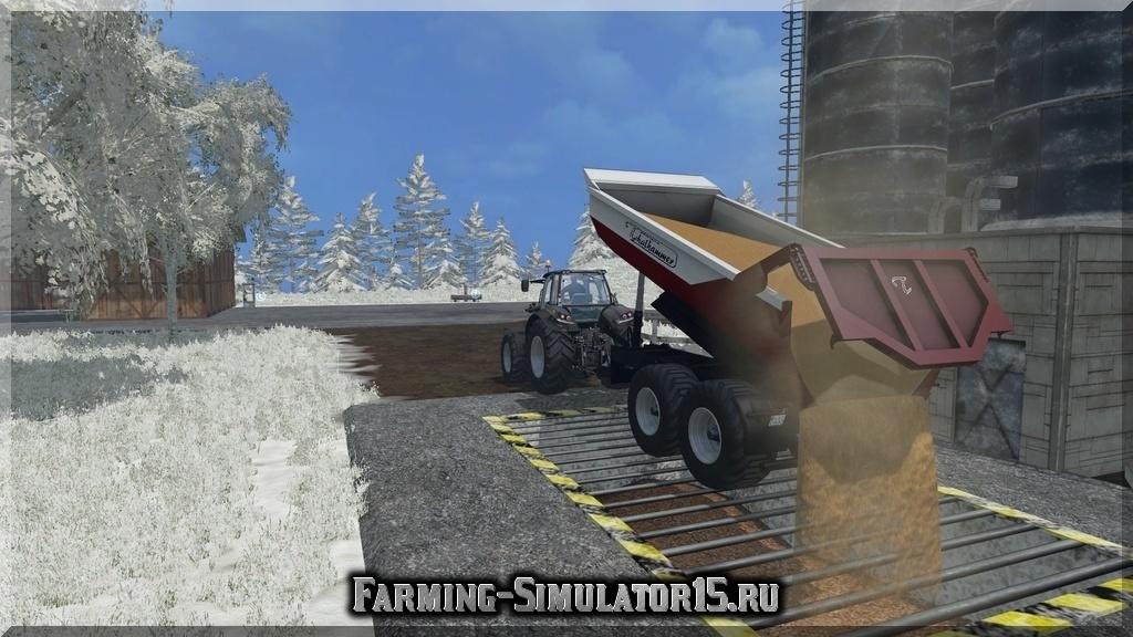 Мод прицепа Thalhammer Dumper TD22 V1 Farming Simulator 2015, 15
