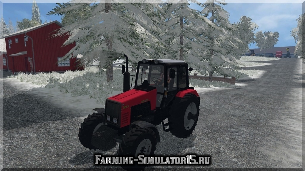 Мод трактора MTZ Беларус МТЗ-1221 Farming Simulator 2015, 15