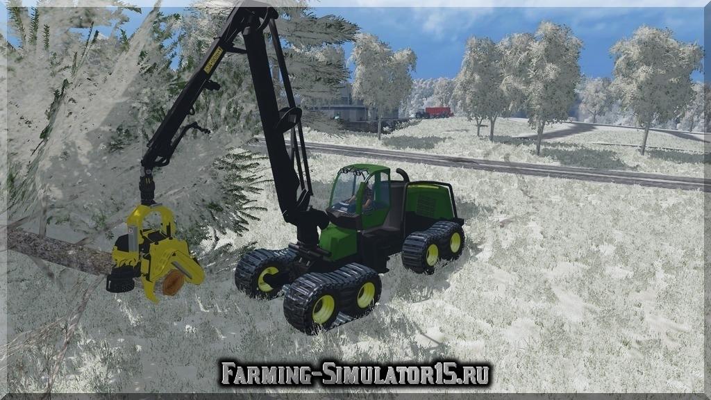 Мод John Deere 1270E v3.0 Farming Simulator 2015