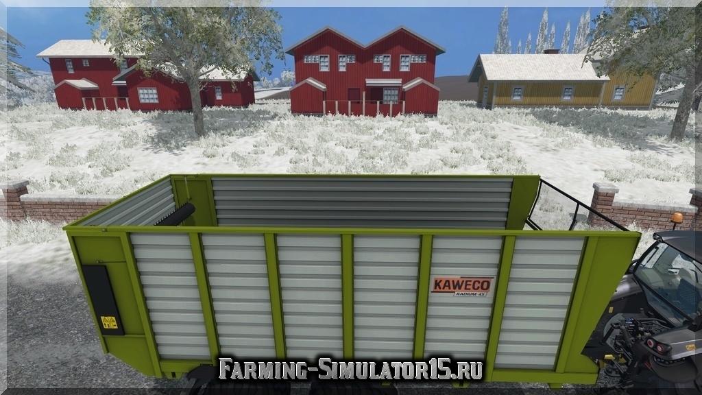Мод прицепа Kaweco Radium 45 Farming Simulator 2015, 15
