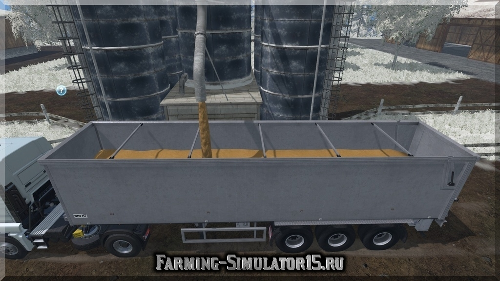 Мод прицепа KROEGER SRMT 70 AT V 1.7 MULTIFRUIT Farming Simulator 15, 2015