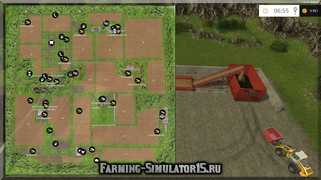 Скачать карту ферма для farming simulator 15