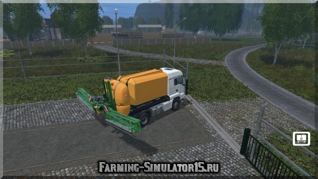 Мод опрыскивателя ABSRamazoneUF1801 v 0.9 beta Farming Simulator 2015, 15